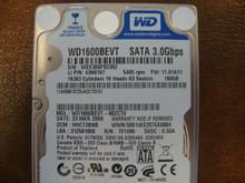 WESTERN DIGITAL WD1600BEVT-88ZCT0 DCM:HHCT2BNB FW:11.01A11 SATA 160GB
