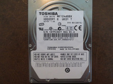 Toshiba MK1246GSX HDD2D91 E UK01 T 010 B0/LB213J 120gb Sata (Donor for Parts)