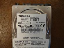 TOSHIBA MK1234GSX HDD2D31 C ZK01 T 010 A0/AH001A SATA 120GB 67CWT14BT
