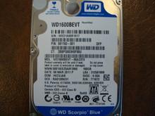 WESTERN DIGITAL WD1600BEVT-60A23T0 DCM:HECVJAB SATA 160GB