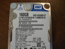 WESTERN DIGITAL WD1600BEVT-22ZCT0 DCM:HHCT2HBB SATA 160GB