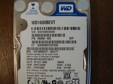 WESTERN DIGITAL WD1600BEVT-60ZCT1 DCM:HHCT2ABB SATA 160GB