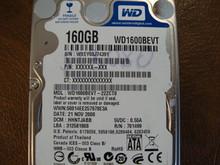 WESTERN DIGITAL WD1600BEVT-22ZCT0 DCM:HHNTJABB SATA 160GB