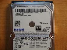 SAMSUNG HM020GI, 20GB, SATA, REV A, F/W: YU100-06 (M40S FS)