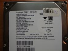 SEAGATE ST380819AS, 80GB, SATA, 9W2732-030, FW: 3.02, TK