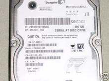 SEAGATE ST9100824AS, 9W3139-022, 100GB SATA FW:7.24, WU 360178761131