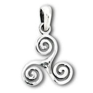 Sterling Silver Celtic Triskele Pendant
