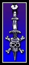 The Pirate Sword Skull Dagger