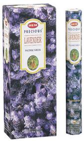 Precious Lavender Incense Sticks, Hex Pack 20 Sticks