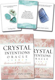 Crystal Intentions oracle by Margaret Ann Lembo