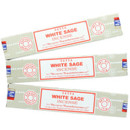 White Sage Incense by Nag Champa