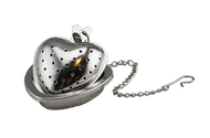 Stainless Steel Heart Tea Infuser w/ Holder