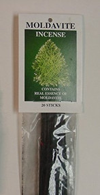 Moldavite Incense Sticks - With Real Moldavite Essence