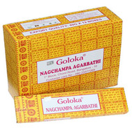 Goloka Incense Golden Nag Champa