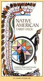 Native American Tarot deck by Magda Gonzalez