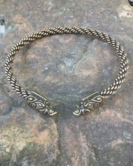 Heavy Braid Wild Boar Torc