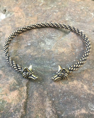 Medium Braid Fox Torc