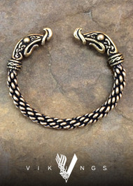 Viking Dragon Bracelet – Medium Braid