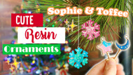 November Christmas Box - Cute Resin Ornaments