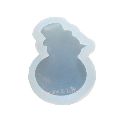 Snowman Clear Silicone Mold