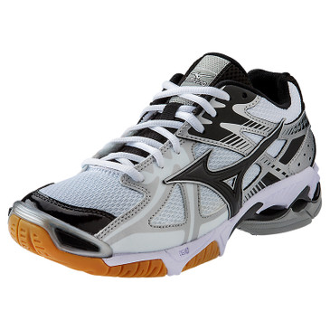Mizuno Men's Wave Bolt 4 - White-Black