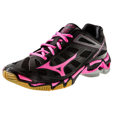 Mizuno Women's Wave Lightning RX3 - Black-Pink