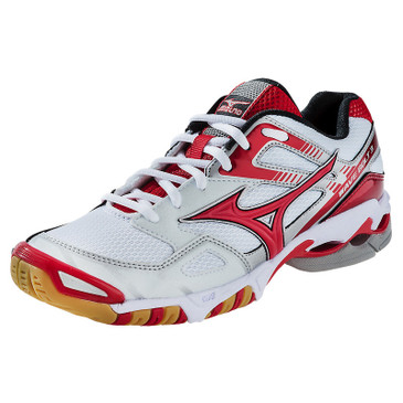 Mizuno Women's Wave Bolt 3 - White-Red
