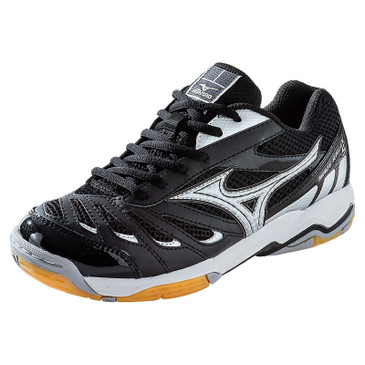 Mizuno Women's Wave Rally 5 - Black-Silver