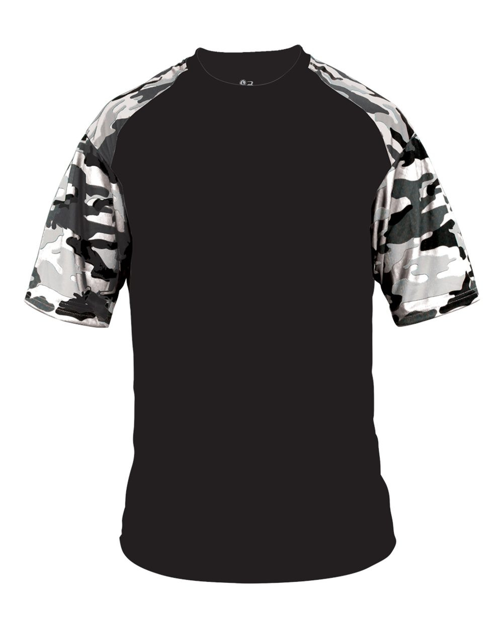 Badger Men's Camo Sports Tee - Black