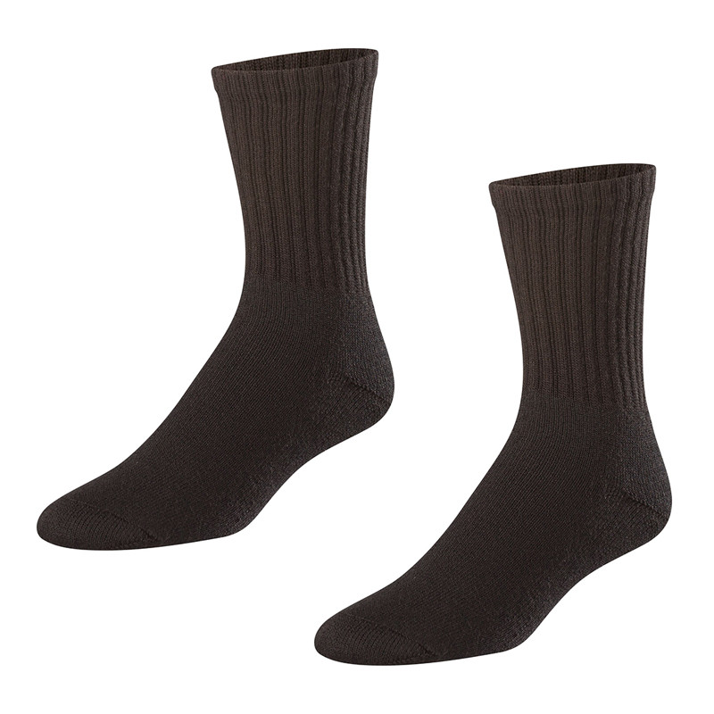 Twin City Chase Crew Socks - Black