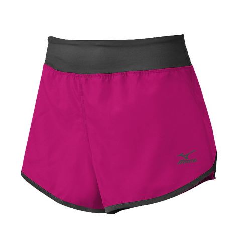 Mizuno Women's Dynamic Cover Up Short - Shocking Pink/Charcoal