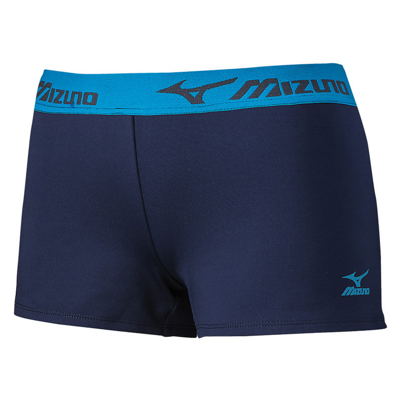 Mizuno Women's MRB Practice Short - Navy/Royal