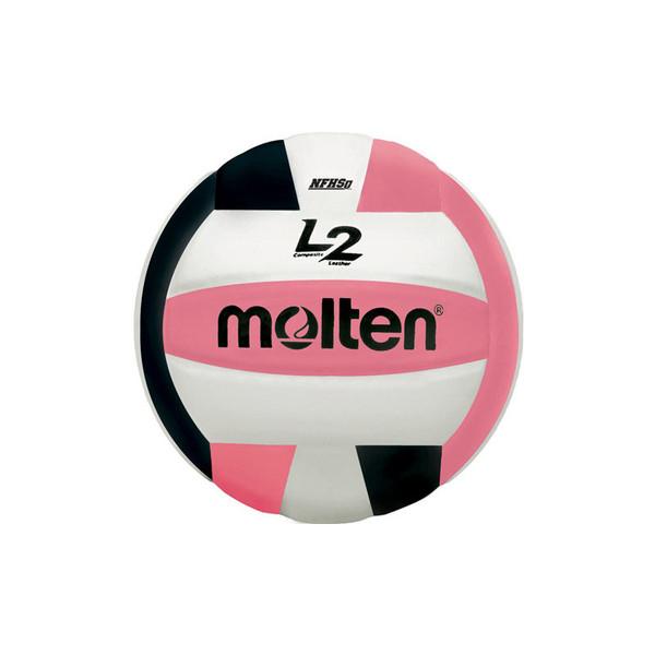 Molten L2 Volleyball - Pink/Black