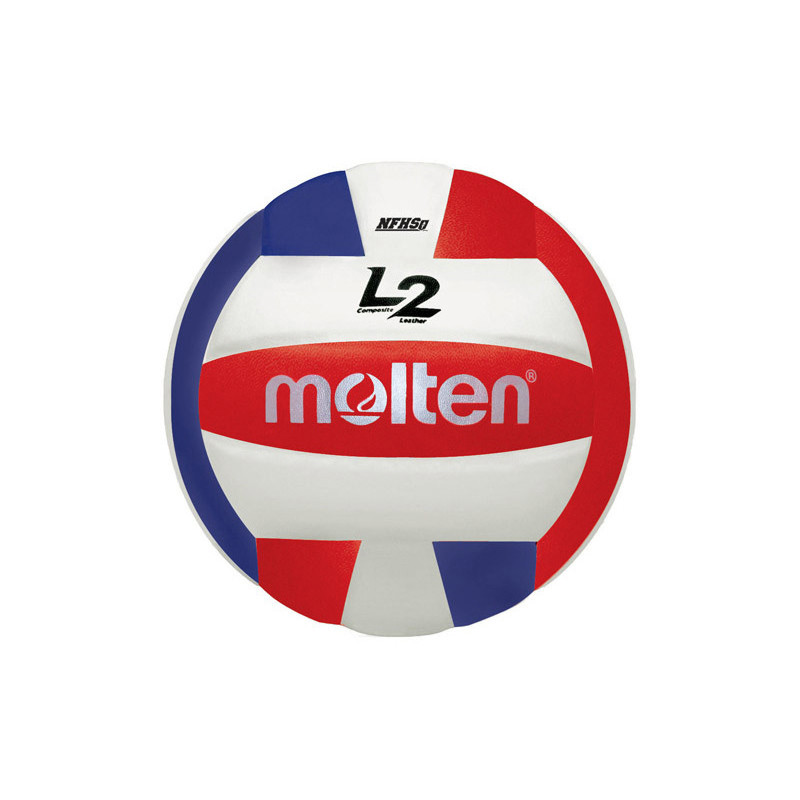 Molten L2 Volleyball - Red/Royal