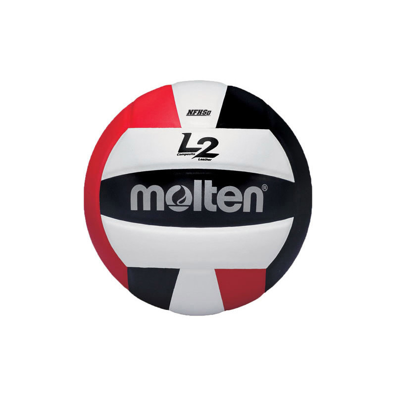Molten L2 Volleyball - Red/Black