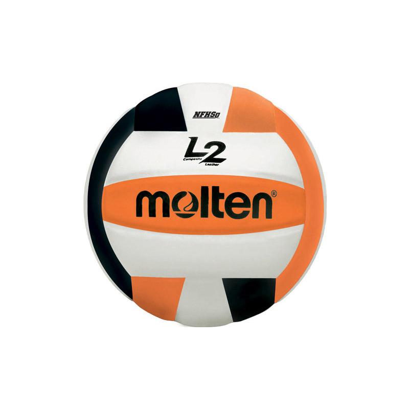 Molten L2 Volleyball - Orange/Black