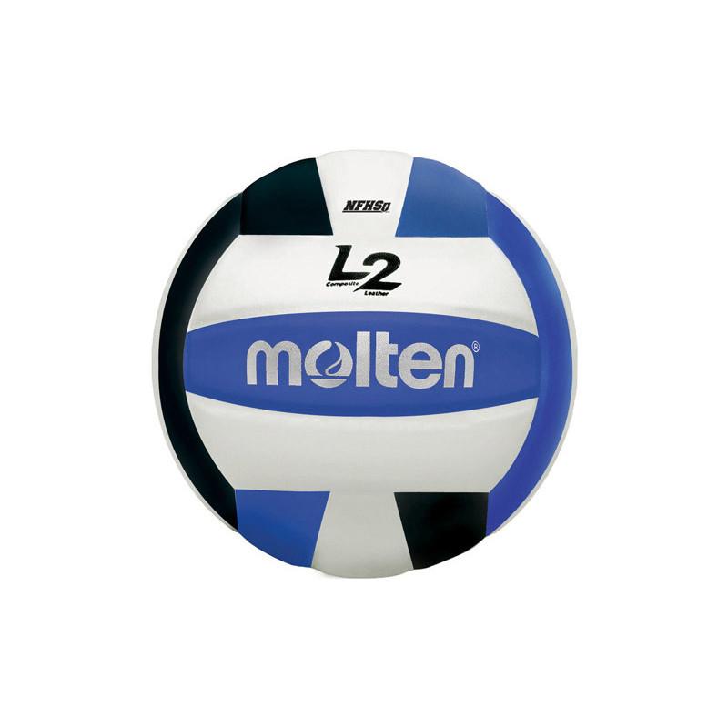 Molten L2 Volleyball - Black/Blue