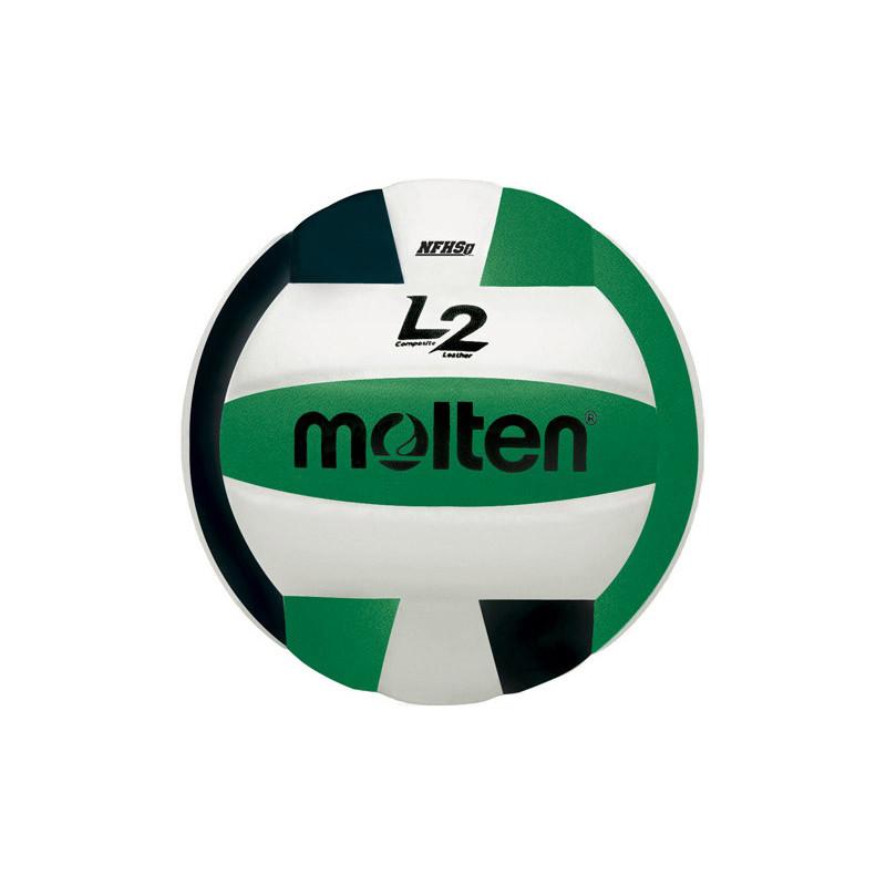 Molten L2 Volleyball - Green/Black