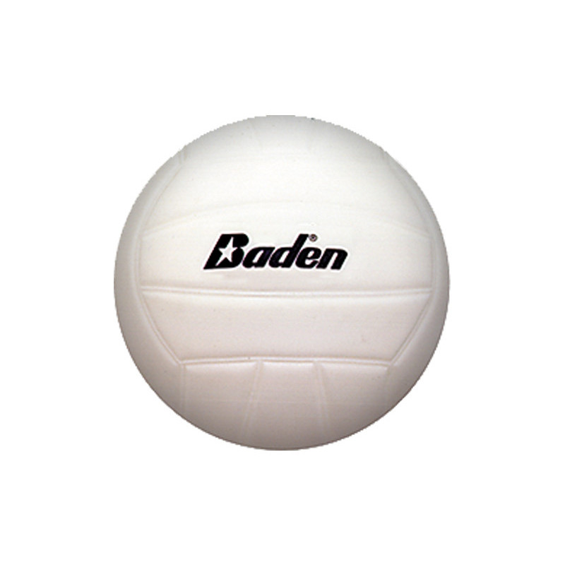 Baden Mini Rubber Volleyball - White