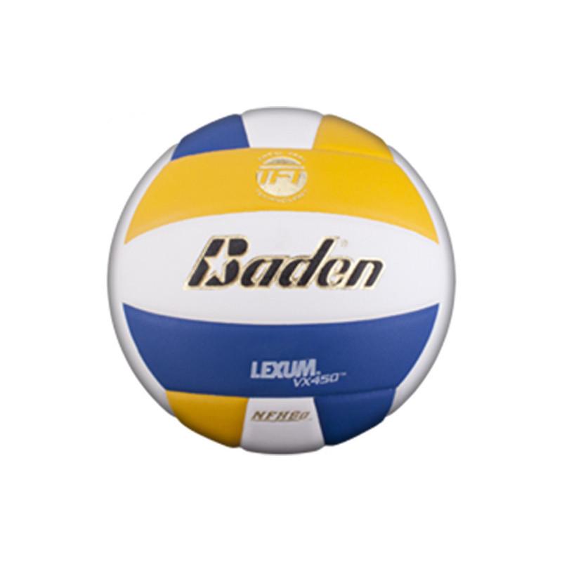Baden Lexum Comp VX450 Volleyball - Yellow/Royal