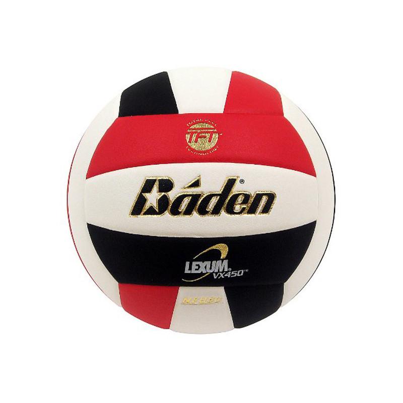 Baden Lexum Comp VX450 Volleyball - Red/Black