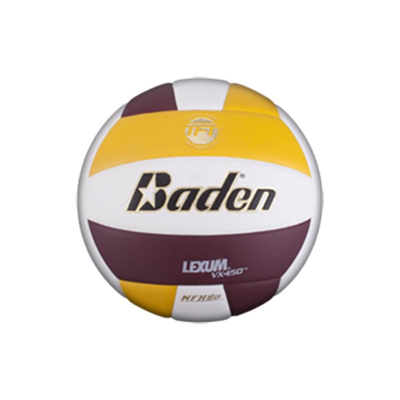 Baden Lexum Comp VX450 Volleyball - Yellow/Purple