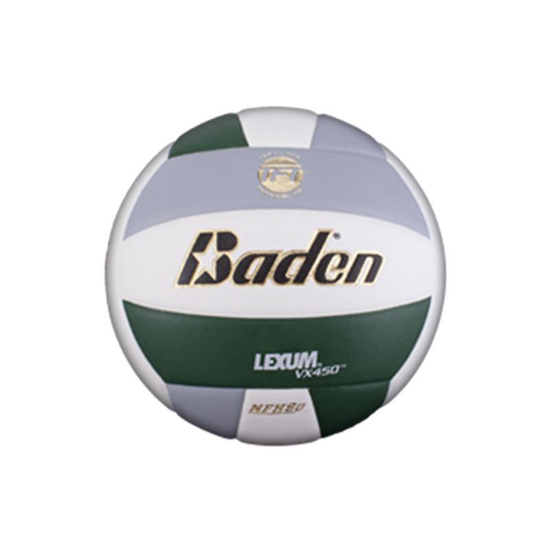 Baden Lexum Comp VX450 Volleyball - Forest Green/Grey