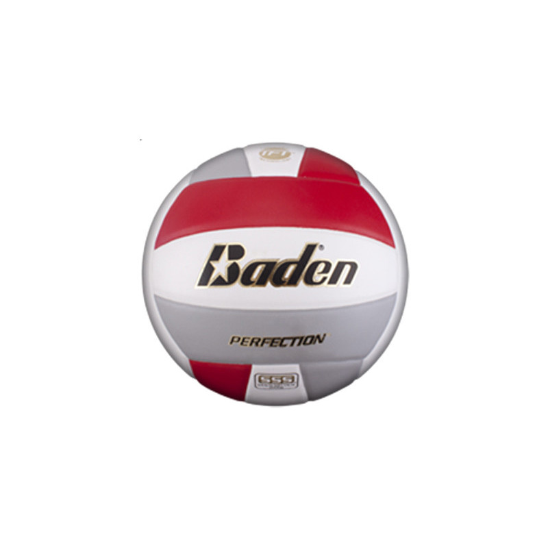 Baden VX5E Perfection Elite Series Volleyball - Red/Grey