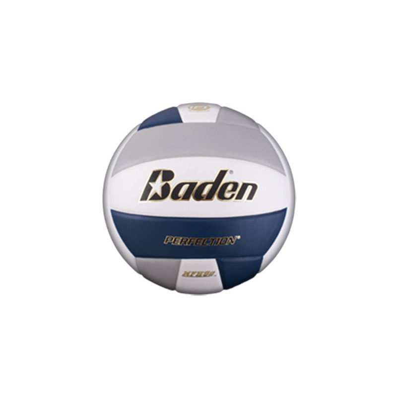 Baden VX5E Perfection Elite Series Volleyball - Navy/Grey