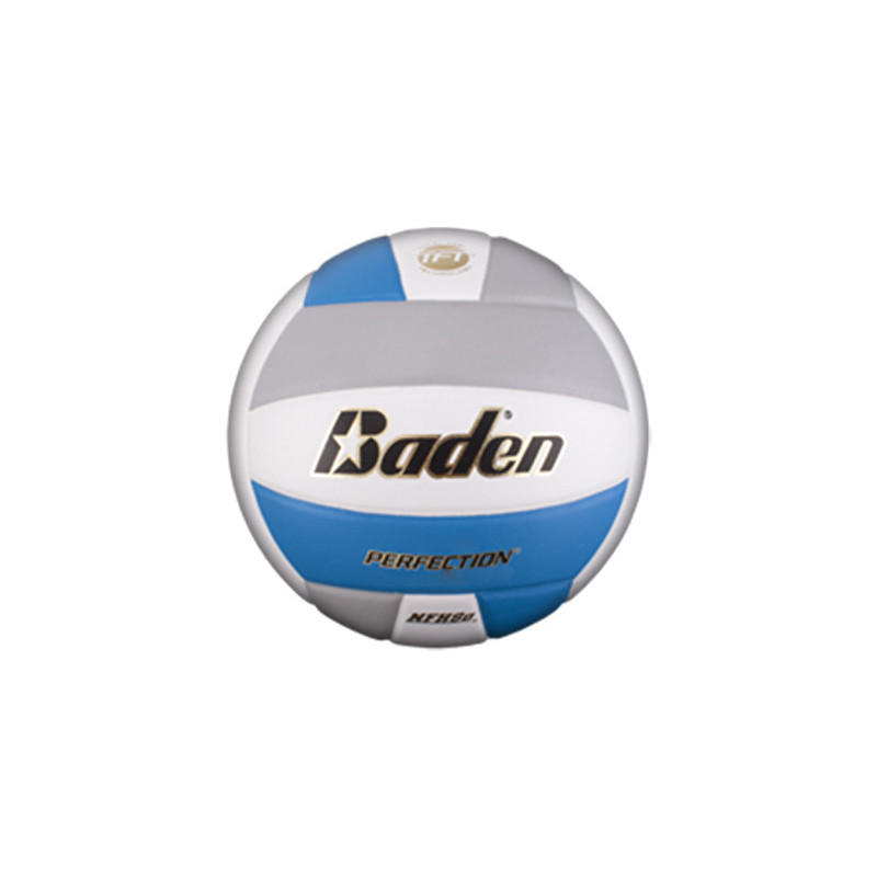 Baden VX5E Perfection Elite Series Volleyball - Grey/Light Blue