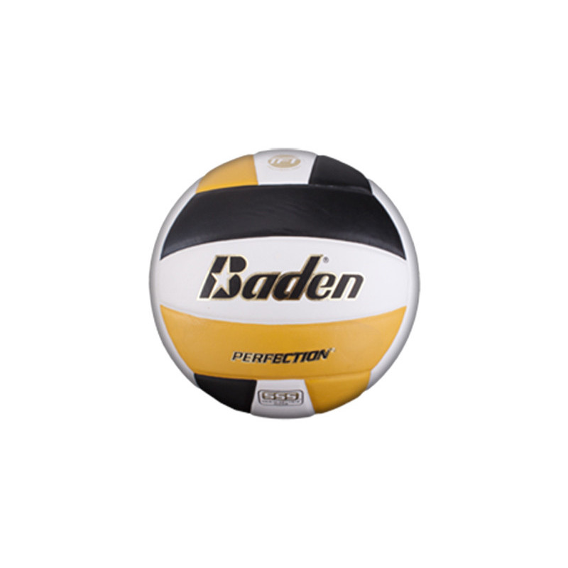 Baden VX5E Perfection Elite Series Volleyball - Black/Yellow