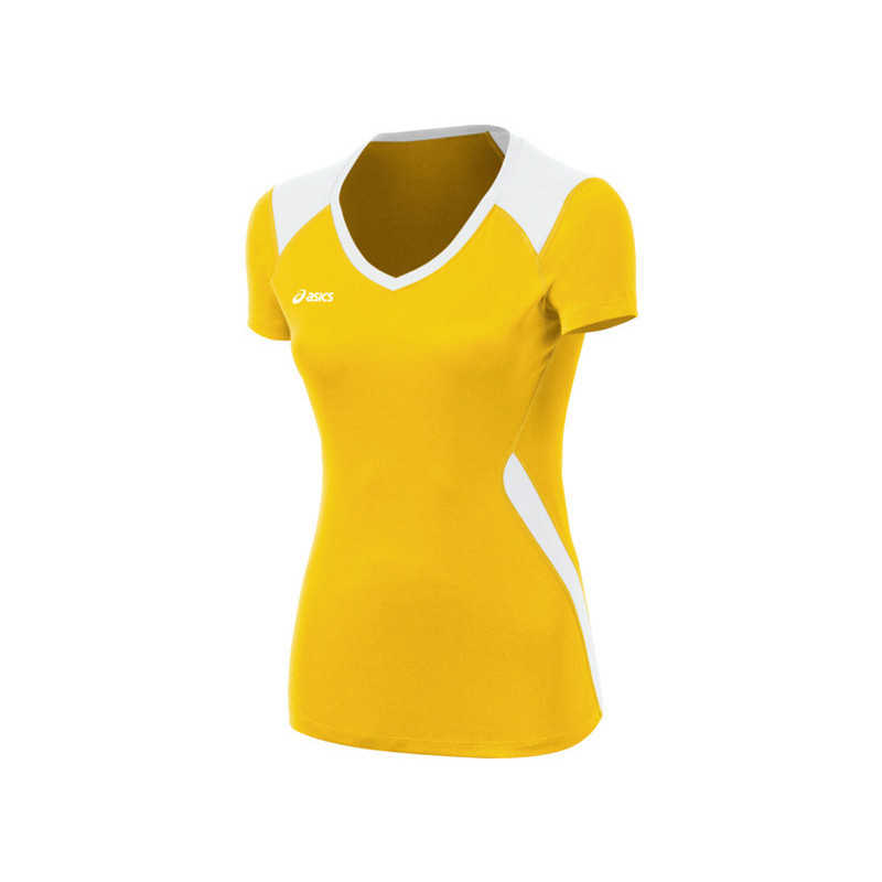 Asics Women's Jr. Set Jersey - Gold/Yellow