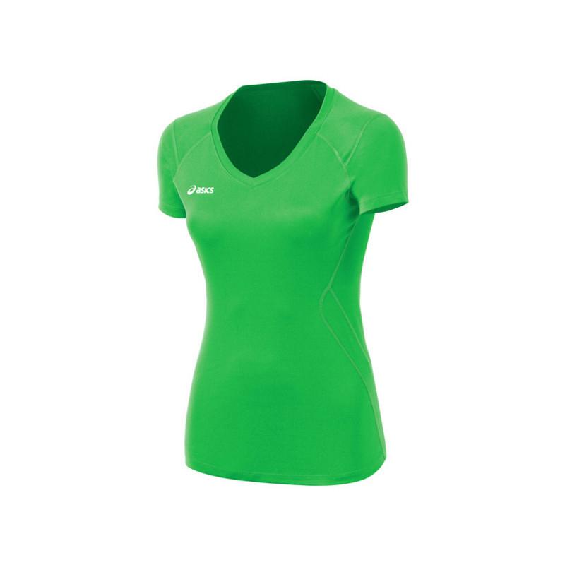 Asics Women's Set Jersey - Lime Green