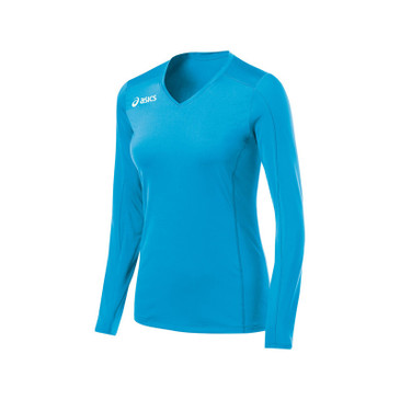 Asics Women's Roll Shot Jersey - Atomic Blue